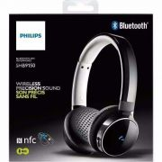 Fone De Ouvido Headphone Bluetooth Shb9150bk/00 Philips
