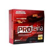 Barra de Proteína - Cx com 12 barras 30g - Chocolate com Avelã - BodyAction