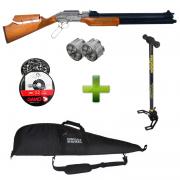 Espingarda Pressão 5.5 Pcp Sumatra 500 Winchester + Capa+ Bomba Pneumática