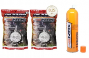 Kit Cartucho Green Gas Taikoon Nautika + 10000 Bbs 025g
