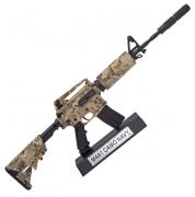 Miniatura Decorativa em Metal M4A1 Camuflada - Arsenal Guns