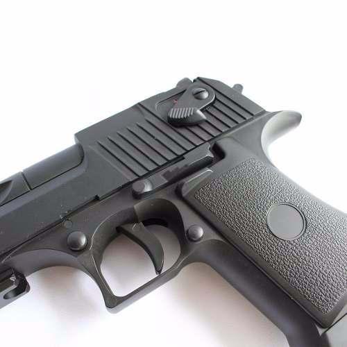 Pistola De Airsoft Eletrica Cyma Cm121 Desert Eagle Bivolt