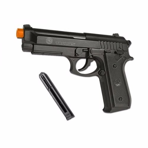 Pistola Airsoft Taurus Pt92 Co2 Full Metal 6mm Slide Fixo