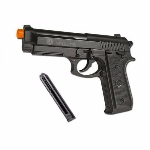 Pistola Airsoft Pt92 Co2 Full Metal 6mm Slide Fixo