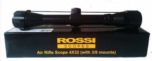 Luneta Rossi 4x32 Com Suporte Mount 11mm