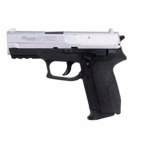 Pistola Sig Sauer Sp2022 Co2 4,5mm Slide Cromado