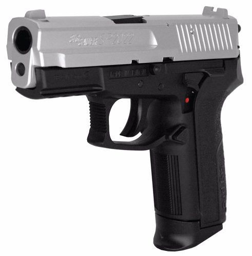 Pistola Sig Sauer Sp2022 Co2 4,5mm Slide Cromado