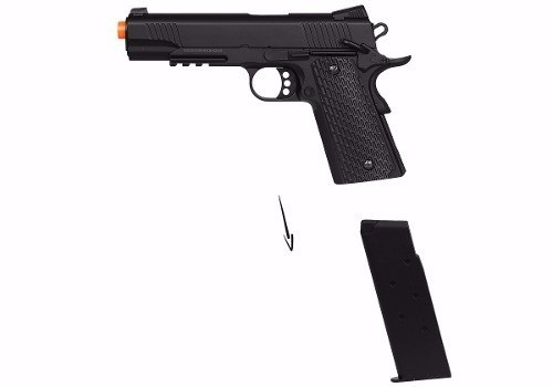 Pistola Airsoft Double Eagle 1911 M291 Spring Fullmetal