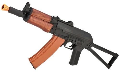 Rifle de Airsoft Aks-74u Elétrica FullMetal 6mm