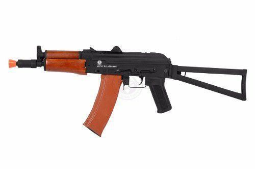 Rifle de Airsoft Aks-74u Elétrica FullMetal 6mm