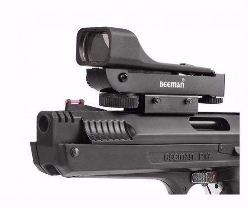Pistola de Chumbinho Beeman Calibre 5.5 + Red Dot
