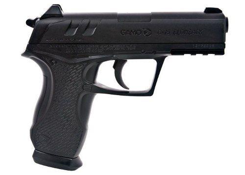 Pistola De Pressão Gamo Bbs Aço 4,5mm C-15 Blowback Co2