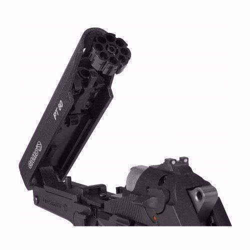 Pistola De Pressão Gamo Chumbo 4,5mm Pt-80 Co2