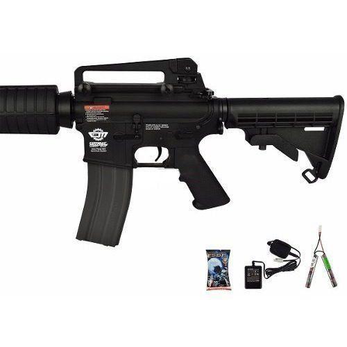 Rifle de Airsoft G&g Cm16 Carbine Combo Semi-metal  6mm