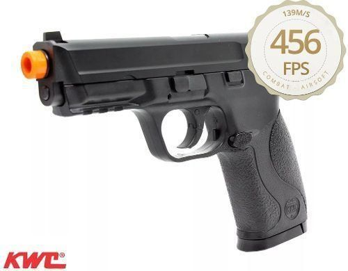 Pistola Airsoft MP40 KWC Co2 Semi-Metal 6mm