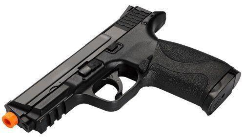 Pistola Airsoft S&w Mp40 Co2 Polímero Kwc Cal. 6mm