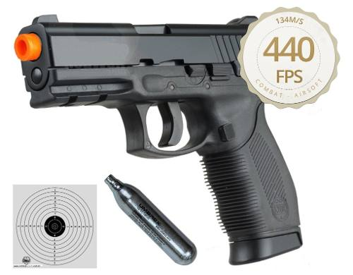 Pistola Airsoft Co2 Kwc 24/7 Polímero Cal. 6mm