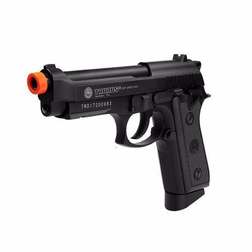 Pistola Airsoft Taurus Pt99 Full Metal Blowback Co2 Gbb Cal 6mm - CyberGun