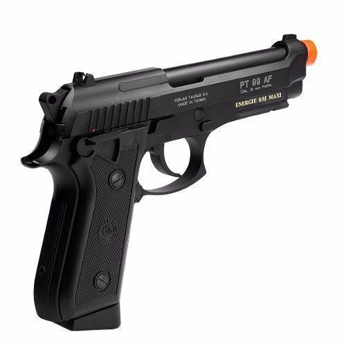 Pistola Airsoft Taurus Pt99 Full Metal Blowback Co2 Gbb Cal 6mm - CyberGun