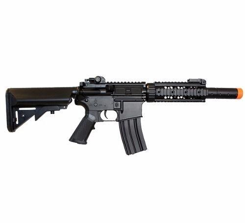 Rifle De Airsoft M4a1 Cyma Cm513 Com Bateria + Carregador