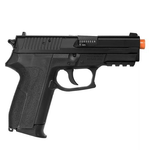 Pistola De Airsoft Co2 Kwc Sig Sauer Sp2022 Polímero 6mm