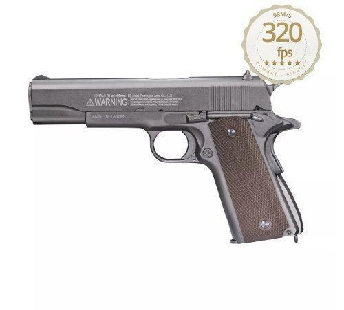 Pistola De Co2 Remington 1911 Rac Blowback