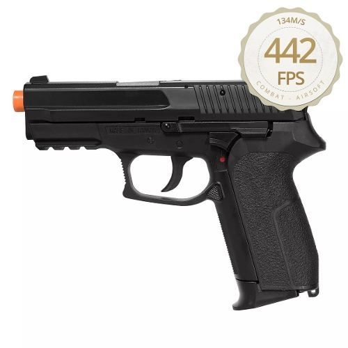 Pistola De Airsoft Co2 Sig Sauer Sp2022 Kwc Metal