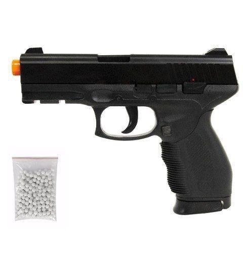 Pistola Airsoft Spring PT24/7 KWC 6mm + Speed Loader
