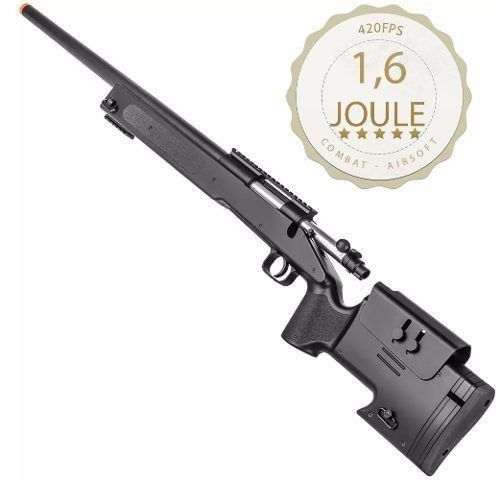 Rifle De Airsoft Spring Sniper M62 Black - Double Eagle
