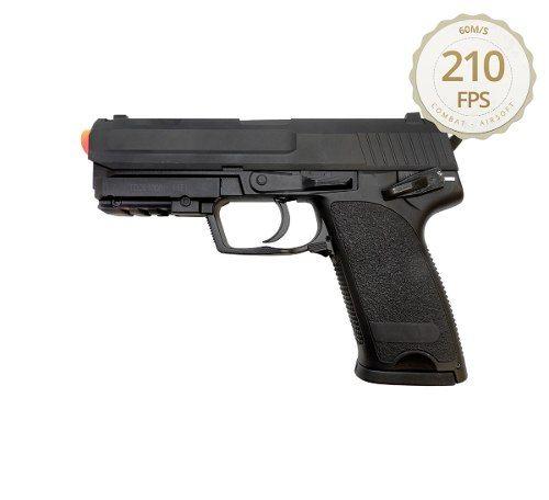 Pistola Airsoft Elétrica Cyma Usp Cm125 Bivolt