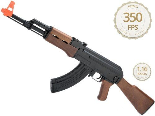 Rifle Airsoft Ak47 Elétrico Aeg Semi-metal Cm522 6mm - Cyma