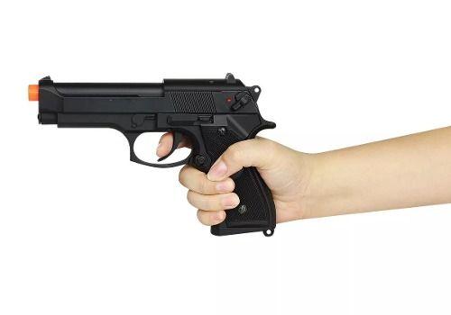 Pistola Airsoft Elétrica Bivolt Beretta Cm126 Full Metal