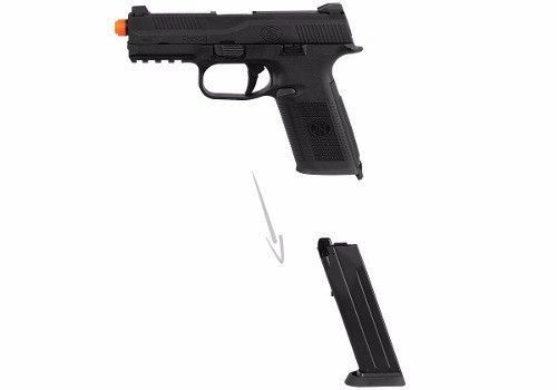 Pistola Airsoft Fn Fns-9 Bax Slide Metal Co2 Gbb 6,0mm