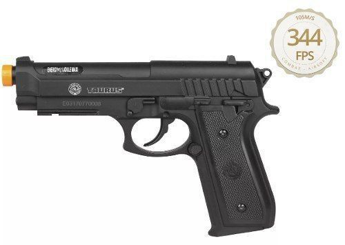 Pistola Airsoft Co2 Cybergun Pt92 Cybergun Polímero Gás