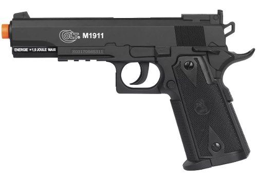 Airsoft Pistola Co2 Cybergun Colt 1911 Slide Fixo 6mm