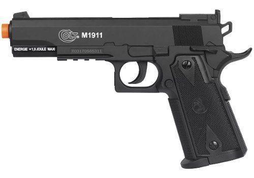 Airsoft Pistola Co2 Colt 1911 Slide Fixo 6mm - Cybergun