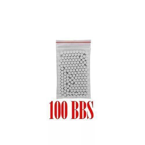 Munição Airsoft Esferas BBs 6mm 0,20g Granel - Pacote 100un