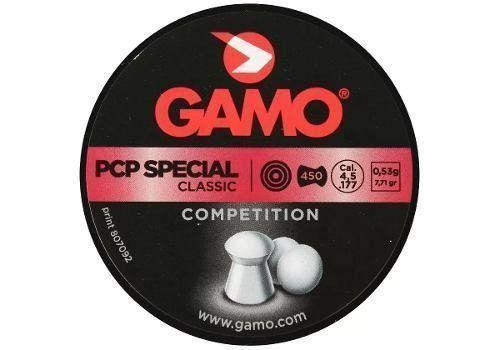 Chumbinho Gamo Pcp Special Classic Competition 4.5mm 450un