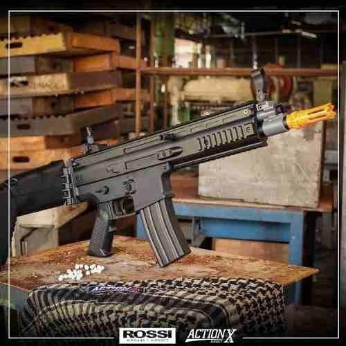 Rifle Airsoft Elétrico Cyma Scar Labs CM067 Bivolt  - Combat Airsoft