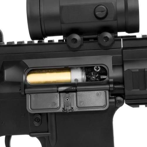 Rifle De Airsoft Aeg M4 M804 A2 + Lanterna + Red Dot Fake