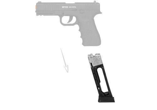 Magazine Para Airgun Co2 W119 4,5mm