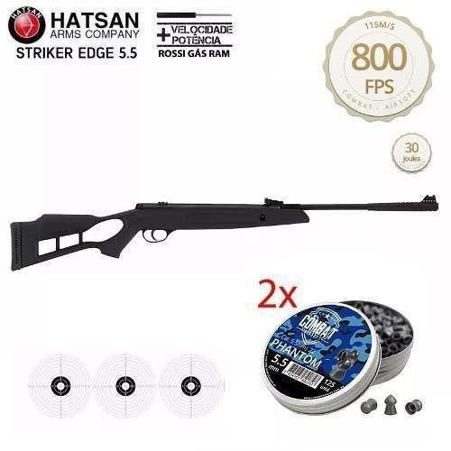 Carabina Hatsan Chumbinho Striker Edge Magnum 5.5 Nitro