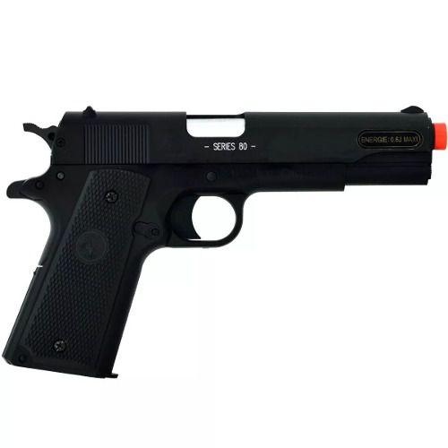 Pistola Airsoft Cybergun Colt M1911 A1 M1911a1 Slide Metal