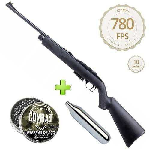 Carabina Rifle De Pressão Co2 Crosman Repeatair 1077 - Combat Airsoft