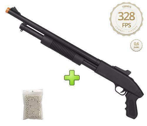 Rifle Airsoft Shotgun Spring Zm61 6mm Cyma