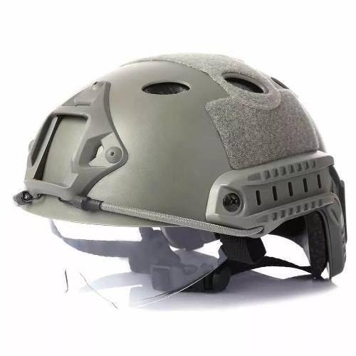 Capacete De Proteção Emerson Fast Pj Cor Fg Airsoft Paintbal