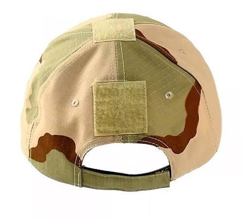 Boné Tático Emerson Gear Camuflado Militar - Desert