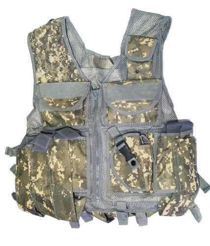 Colete Tatico Modular Airsoft Paintball Marpat Acu