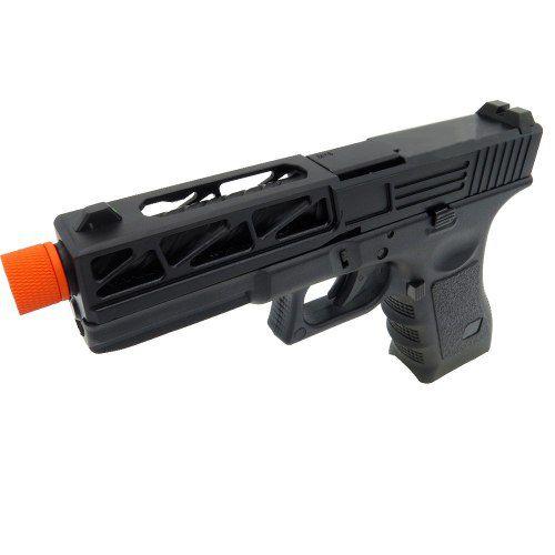 Pistola Airsoft Greengás Glock R17-3 Slide Metal Blowback