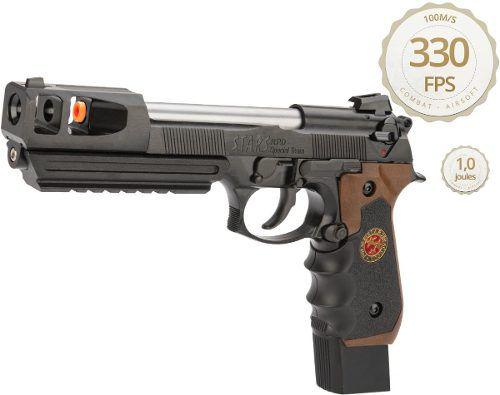 Pistola Airsoft We M92 Bio Hazard Samurai Barry Burton V2